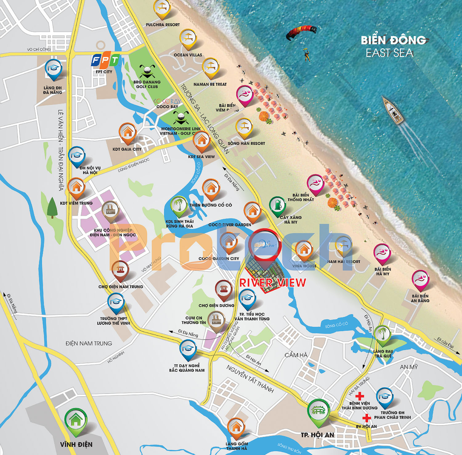 vi tri khu do thi river view